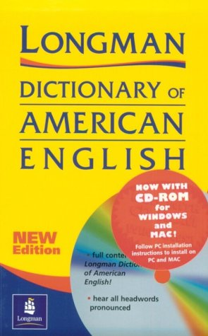 Longman Dictionary of American English 2nd 1997 edition cover