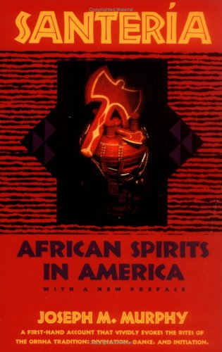 Santeria African Spirits in America  1993 edition cover