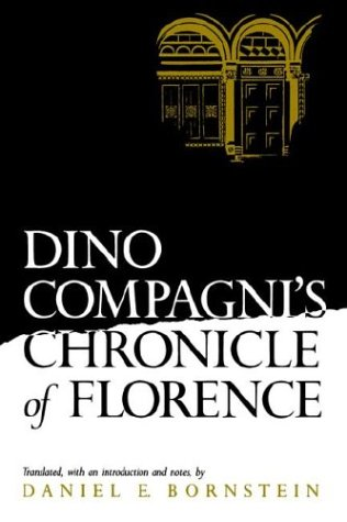Dino Compagni's Chronicle of Florence   1986 edition cover