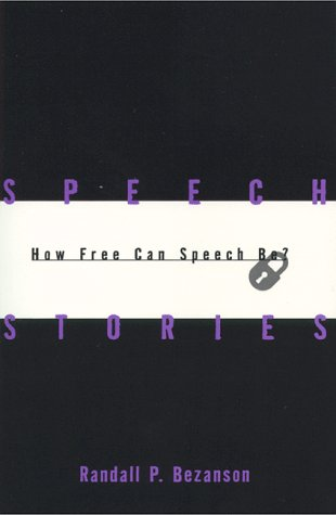 Speech Stories How Free Can Speech Be?  1998 edition cover