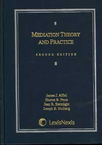 Mediation Theory and Practice 2nd 2006 edition cover