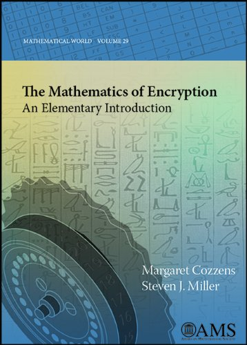 Mathematics of Encryption An Elementary Introduction  2013 9780821883211 Front Cover