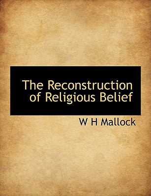 Reconstruction of Religious Belief N/A 9781116001211 Front Cover