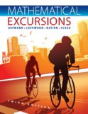 Student Solutions Manual for Aufmann/Lockwood/Nation/Clegg's Mathematical Excursions, 3rd  3rd 2013 edition cover