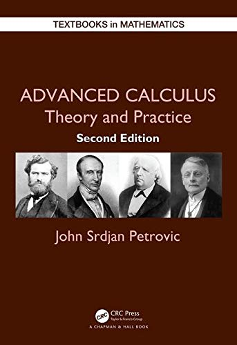 Cover art for Advanced Calculus: Theory and Practice, 2nd Edition
