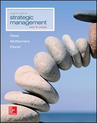 Strategic Management Text and Cases 8th 2016 9781259278211 Front Cover