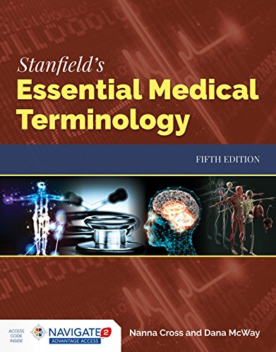 Stanfield's Essentials Medical Terminology  5th 2020 (Revised) 9781284142211 Front Cover