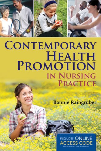 Contemporary Health Promotion in Nursing Practice   2014 edition cover