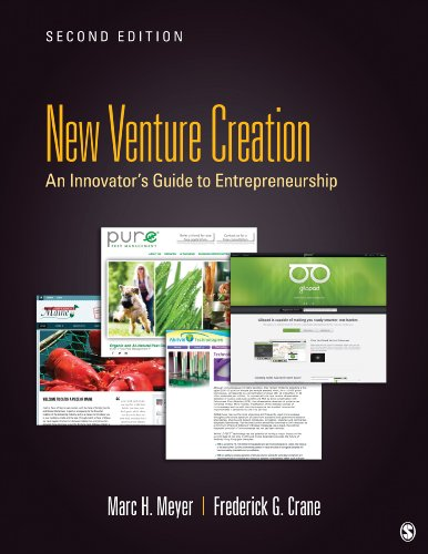 New Venture Creation An Innovator's Guide to Entrepreneurship 2nd 2014 9781452257211 Front Cover