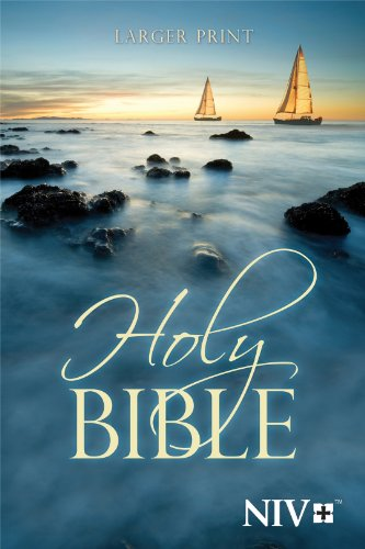 Niv Larger Print Bible  Large Type edition cover