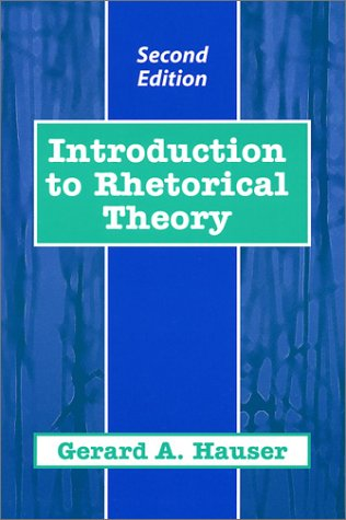 Introduction to Rhetorical Theory  2nd 2002 edition cover