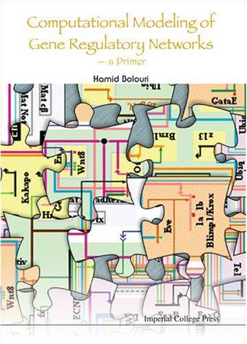 Computational Modeling of Gene Regulatory Network   2008 edition cover