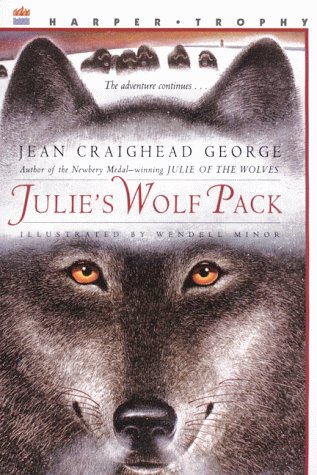 Julie's Wolf Pack   1997 edition cover