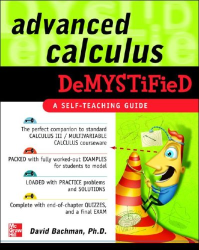 Advanced Calculus Demystified   2007 9780071481212 Front Cover
