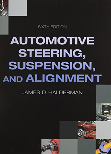 Automotive Steering, Suspension, Alignment + Natef Correlated Job Sheets for Auto Steering, Suspension, Alignment:   2013 9780133455212 Front Cover