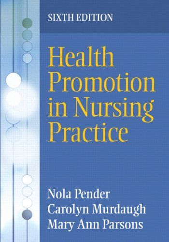 Health Promotion in Nursing Practice  6th 2011 edition cover
