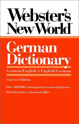 German Dictionary   1987 edition cover