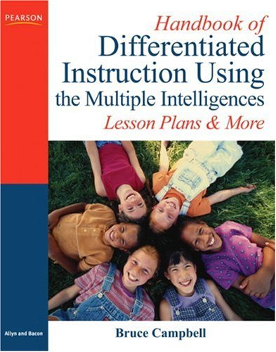 Handbook of Differentiated Instruction Using the Multiple Intelligences Lesson Plans and More  2008 edition cover