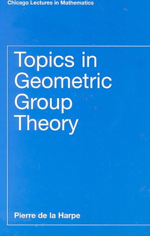 Topics in Geometric Group Theory   2000 (Reprint) edition cover