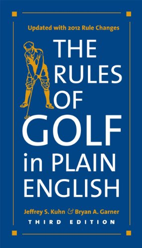 Rules of Golf in Plain English  3rd 2012 edition cover