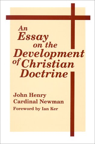 Essay on the Development of Christian Doctrine  6th edition cover