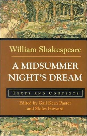 Midsummer Night's Dream Texts and Contexts  1999 edition cover