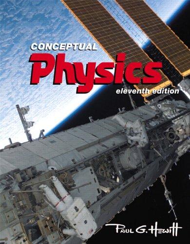 Conceptual Physics  11th 2010 edition cover