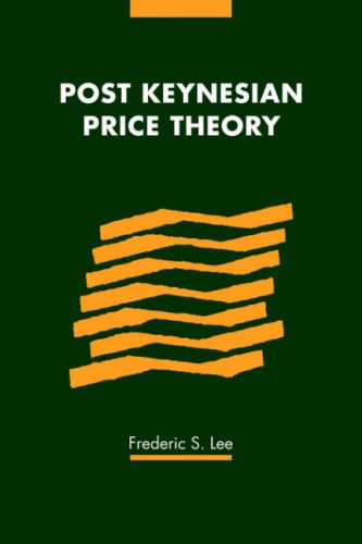 Post Keynesian Price Theory   2006 9780521030212 Front Cover