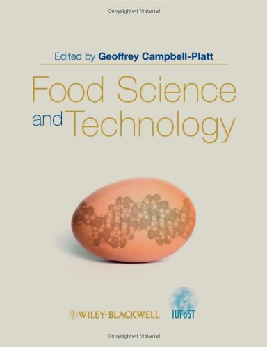 Food Science and Technology   2009 edition cover
