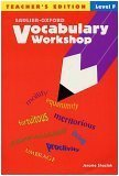 Vocabulary Workshop, Level F  2002 edition cover