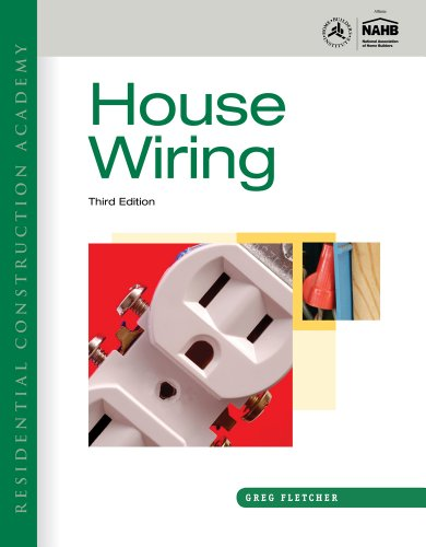 Residential Construction Academy House Wiring 3rd 2012 9781111306212 Front Cover