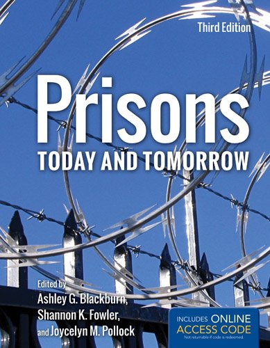 Prisons Today and Tomorrow  3rd 2014 edition cover