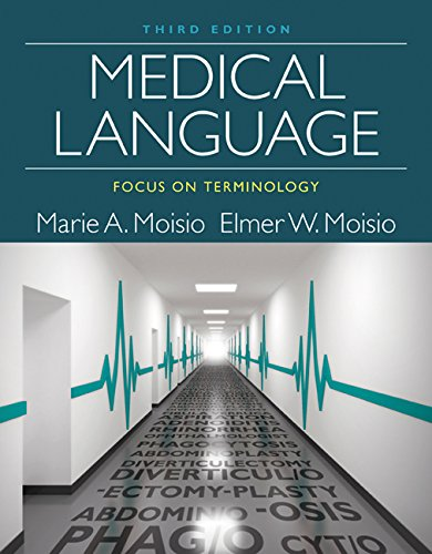 Medical Language Focus on Terminology: 3rd 2015 edition cover