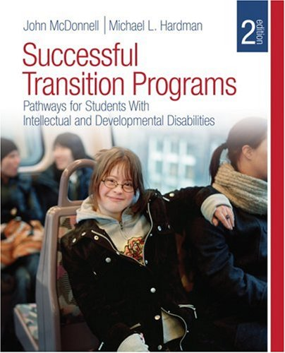 Successful Transition Programs Pathways for Students with Intellectual and Developmental Disabilities 2nd 2010 edition cover