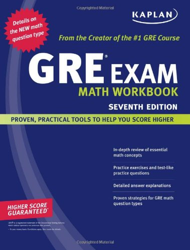 GRE Exam Math  7th 2008 (Revised) 9781419552212 Front Cover