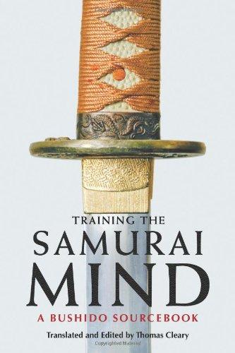 Training the Samurai Mind A Bushido Sourcebook  2009 edition cover