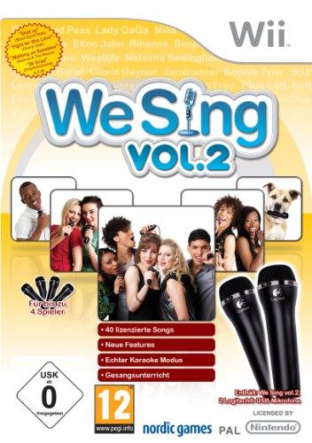 We Sing Vol. 2 inkl. 2 Mikrofone Nintendo Wii artwork