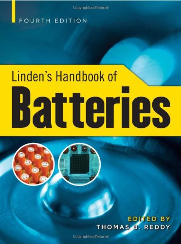 Linden's Handbook of Batteries  4th 2010 edition cover