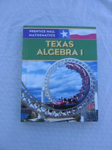 Algebra 1 (TX)  2008 edition cover