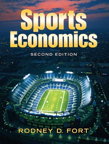 Sports Economics  2nd 2007 (Revised) edition cover