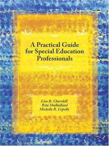 Practical Guide for Special Education Professionals   2008 edition cover
