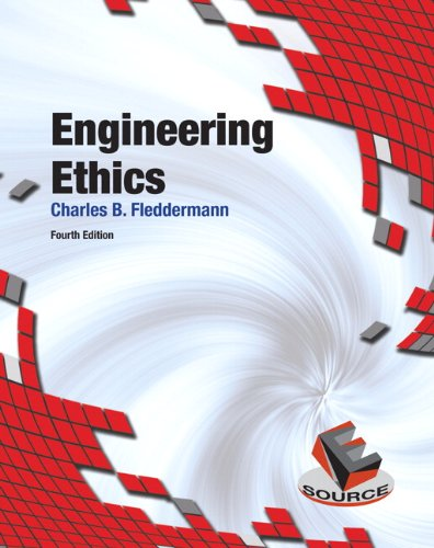 Engineering Ethics  4th 2012 edition cover