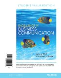 Excellence in Business Communication: Student Value Edition  2014 edition cover