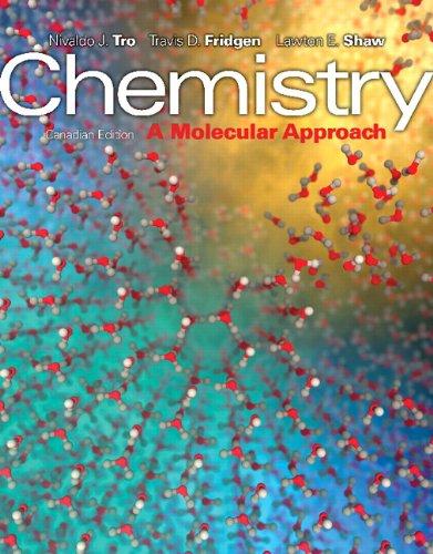 Chemistry A Molecular Approach  2014 edition cover
