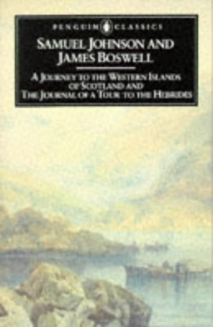 Journey to the Western Islands of Scotland and the Journal of a Tour to the Hebrides   1984 edition cover