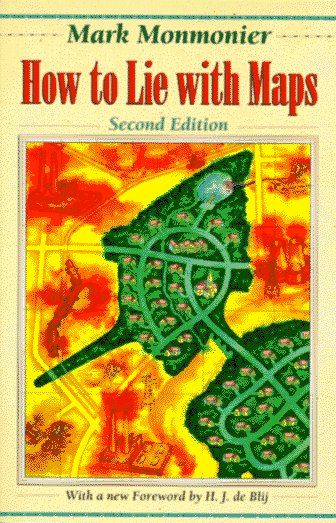 How to Lie with Maps  2nd 1996 (Revised) edition cover