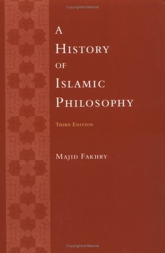 History of Islamic Philosophy  3rd 2004 edition cover