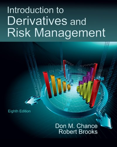 Introduction to Derivatives and Risk Management (with Stock-Trak Coupon)  8th 2010 edition cover