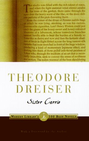 Sister Carrie   1999 edition cover