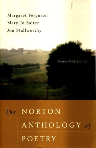 Norton Anthology of Poetry  5th 2004 9780393979213 Front Cover